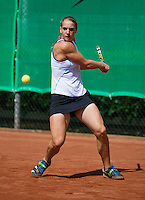 August 9, 2014, Netherlands, Rotterdam, TV Victoria, Tennis, National Junior Championships, NJK,  Isolde de Jong (NED)<br /> Photo: Tennisimages/Henk Koster