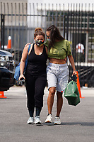 Jeannie Mai And Justina Machado Share A Giggle At Dancing With The Stars Rehearsal