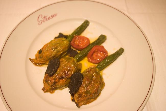 Entree, Stresa Restaurant, Paris, France, Europe