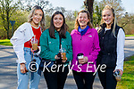 Enjoying a coffee and a stroll in the Killarney National park on Saturday, l to r: Clare and Aileen O'Leary, Megan and Hannah McAuliffe.