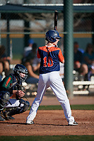 Matthew Snyder during the Under Armour All-America Tournament powered by Baseball Factory on January 18, 2020 at Sloan Park in Mesa, Arizona.  (Mike Janes/Four Seam Images)