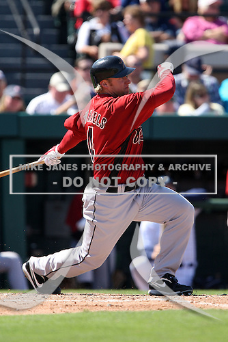 March 5, 2010:  Outfielder Jason Michaels of the Houston Astros during a Spring Training game at Joker Marchant Stadium in Lakeland, FL.  Photo By Mike Janes/Four Seam Images