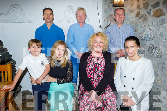 Enjoying the evening in Bella Bia on Friday.<br /> Front l to r: Noelle Jameson, Tom O'Connell, Sabrina O'Regan and Amanda O'Connell..<br /> Back l to r: Kevin Keavey, DJ Nolan and Eamon O'Connell.