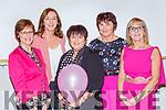 Phil Doolan, Elaine Coffey, Teresa Casey, Kathleen Ryan and Carmel O'Riordan at  the Pink Night in Kilcummin Klub bar on Saturday night