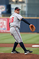 Rome Braves Jo Jo Reyes during the South Atlantic League All-Star game at Classic Park on June 20, 2006 in Eastlake, Ohio.  (Mike Janes/Four Seam Images)