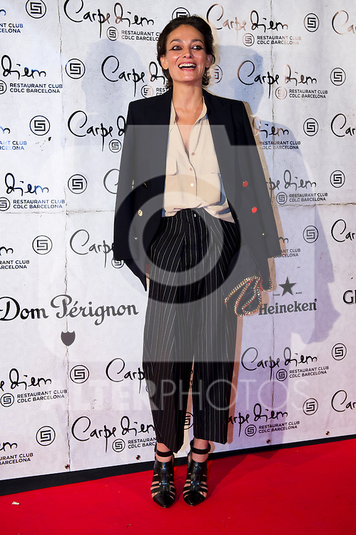 Model Laura Ponte attends the 10th anniversary celebration 'CDLC Carpe Diem: 10 years, the birthday' of CDLC Carpe Diem Lounge Club on November 8, 2013 in Barcelona, Spain. (ALTERPHOTOS/Alex Caparros)