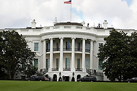 United States President Donald J. Trump returns to the White House in Washington, DC after playing golf at Trump National Golf Club Washington DC in Sterling, Virginia on June 21, 2020. <br /> Credit: Yuri Gripas / Pool via CNP/AdMedia