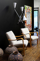 Armchairs in the living room
