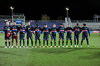 WIENER NEUSTADT, AUSTRIA - NOVEMBER 16: USMNT starting eleven during a game between Panama and USMNT at Stadion Wiener Neustadt on November 16, 2020 in Wiener Neustadt, Austria.