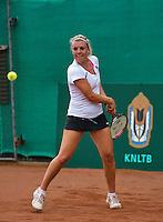 12-08-13, Netherlands, Raalte,  TV Ramele, Tennis, NRTK 2013, National RankingTennis Championships 2013,  Kim van der Horst<br /> <br /> Photo: Henk Koster