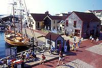 AJ1467, Newport, Rhode Island, Old Port Marina at Newport Yachting Center on Bowen's Wharf in Newport, Rhode Island.