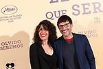 Carlos Chamarro and Yolanda Vega attend El Olvido que Seremos premiere at the Paz cinema on May 05, 2021 in Madrid, Spain.(AlterPhotos/ItahisaHernandez)