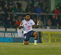 1st October 2021;  The Sportsground, Galway, Ireland; United Rugby Championships, Connacht versus Bulls; Bulls loosehead prop Lizo Gqoboka pictured before kick-off