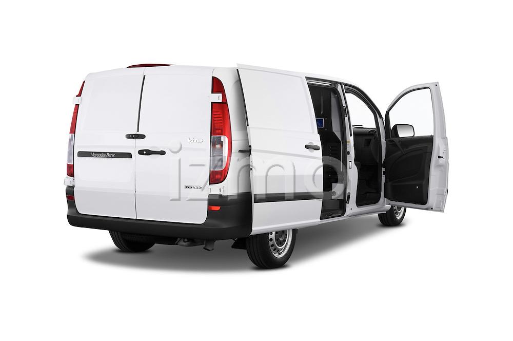 Car images of a 2013 Mercedes Benz Vito 113CDi SWB Long 4 Door Cargo Van 2WD Doors