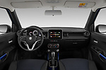 Stock photo of straight dashboard view of 2020 Suzuki Ignis GL+ 5 Door Hatchback Dashboard