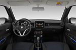 Stock photo of straight dashboard view of 2020 Suzuki Ignis GL+ 5 Door Hatchback Dashboard