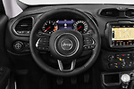 Car pictures of steering wheel view of a 2018 Jeep Renegade Limited 5 Door SUV