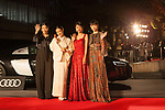 Muse of Japan Cinema, Sakura Ando, Yu Aoi, Hikari Mitsushima, Aoi Miyazaki appears on the opening red carpet for The 30th Tokyo International Film Festival in Roppongi on October 25th, 2017, in Tokyo, Japan. The festival runs from October 25th to November 3rd at venues in Tokyo. (Photo by Michael Steinebach/AFLO)