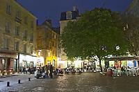 restaurant terrace place st pierre bordeaux france
