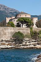 Europe/France/Corse/2B/Haute-Corse/Cap Corse/Saint-Florent: Citadelle génoise