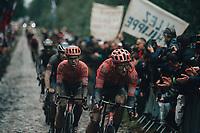 3rd October 2021, Paris–Roubaix Mens Cycling tour;  during the Paris–Roubaix which is famous for its uneven cobblestone course.