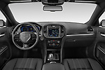 Stock photo of straight dashboard view of 2021 Chrysler 300 S 4 Door Sedan Dashboard