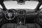 Straight dashboard view of a 2021 Chrysler 300 s 4 Door Sedan