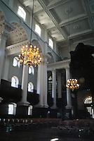 Nicholas Hawksmoor: Christ Church, Spitafields. 3/4 view of SW interior. Photo '05.