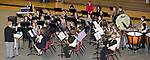 "May 8, 2017- Tuscola, IL- The TCHS Concert Band perform ""Declaration Overture"" during the annual TCHS Spring Concert. [Photo: Douglas Cottle]"