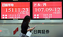 Tokyo stock market on Monday, October 20, 2014