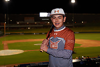 Luis Agustin Garcia during the Under Armour All-America Tournament powered by Baseball Factory on January 17, 2020 at Sloan Park in Mesa, Arizona.  (Zachary Lucy/Four Seam Images)