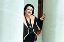 Montserrat Caballe; Spanish Operatic Soprano; 1994. CREDIT Geraint Lewis