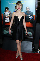 """LOS ANGELES, CA - JANUARY 27: Imogen Poots at the Los Angeles Premiere Of Focus Features' """"That Awkward Moment"""" held at Regal Cinemas L.A. Live on January 27, 2014 in Los Angeles, California. (Photo by David Acosta/Celebrity Monitor)"""