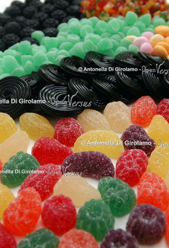 Caramelle. Candies..