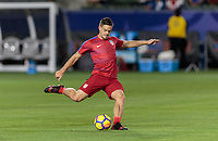 Carson, CA - Sunday January 28, 2018: Kelyn Rowe during an international friendly between the men's national teams of the United States (USA) and Bosnia and Herzegovina (BIH) at the StubHub Center.