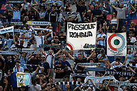 SS Lazio fans cheer on during the Serie A football match between Bologna FC and SS Lazio at Renato Dall'Ara stadium in Bologna (Italy), October 3rd, 2021. Photo Andrea Staccioli / Insidefoto