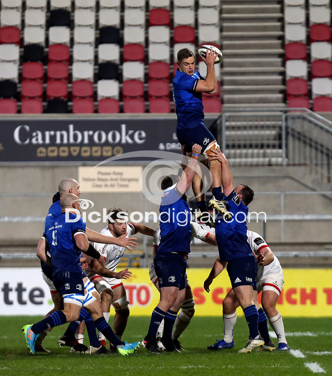 6 March 2021; Scott Penny of Leinster during the Guinness PRO14 match between Ulster and Leinster at Kingspan Stadium in Belfast. Photo by John Dickson/Dicksondigital