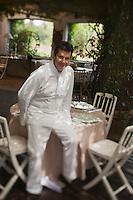 Europe/France/Provence -Alpes-Cote d'Azur/83/Var/Ramatuelle: Christophe Leroy chef du Restaurant: Les Moulins [Non destiné à un usage publicitaire - Not intended for an advertising use]