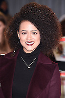 "Nathalie Emmanuel<br /> at the ""xXx: Return of Xander Cage"" premiere at O2 Cineworld, Greenwich , London.<br /> <br /> <br /> ©Ash Knotek  D3216  10/01/2017"