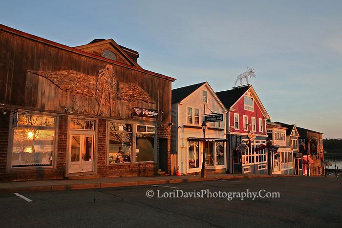 Sunrise, Main Street, Bar Harbor  #S26