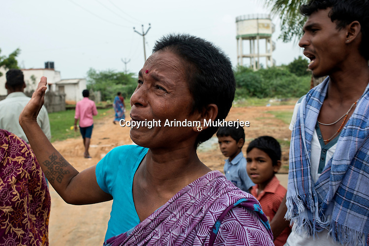 Indra (42 years) expresses her sorrow brought by extra media attention after her image became popular during 2004 Tsunami (which got the World Press Photo picture of the year 2005).Cuddalore, Tamil Nadu, India.