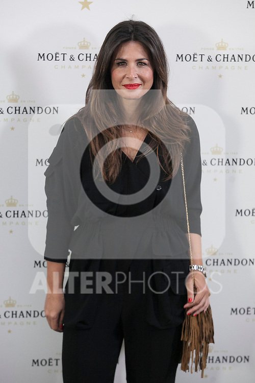 Nuria Roca poses during Moet & Chandon event in Madrid, Spain. May 05, 2015. (ALTERPHOTOS/Victor Blanco)
