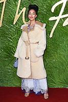 Jorja Smith<br /> arriving for The Fashion Awards 2017 at the Royal Albert Hall, London<br /> <br /> <br /> ©Ash Knotek  D3356  04/12/2017