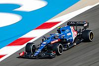 26th March 2021; Sakhir, Bahrain; F1 Grand Prix of Bahrain, Free Practice sessions;  31 OCON Esteban (fra), Alpine F1 A521, action during Formula 1 Gulf Air Bahrain Grand Prix