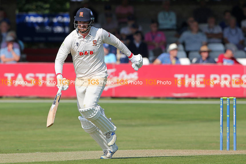 Paul Walter in batting action for Essex during Essex CCC vs Gloucestershire CCC, LV Insurance County Championship Division 2 Cricket at The Cloudfm County Ground on 5th September 2021