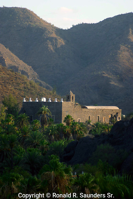 Historic Catholic mission founded by the Jesuits in 1705 and tucked away in the moutains.