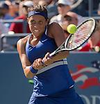 Madison Keys (USA) loses to Aleksandra Krunic (SRB) 7-6, 2-6, 7-5