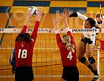 University of South Dakota at South Dakota State Volleyball