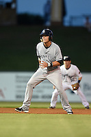 Tampa Yankees first baseman Matt Snyder (29) leads off second during a game against the Lakeland Flying Tigers on April 9, 2015 at Joker Marchant Stadium in Lakeland, Florida.  Tampa defeated Lakeland 2-0.  (Mike Janes/Four Seam Images)