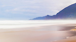 Windblown, Manzaniita Beach, Manzanita Oregon.  Near Nehalem Bay, Nehalem Bay State Park, Oregon.  Between the Pacific Ocean and Nehalem Bay, looking north to Manzanita, Oregon